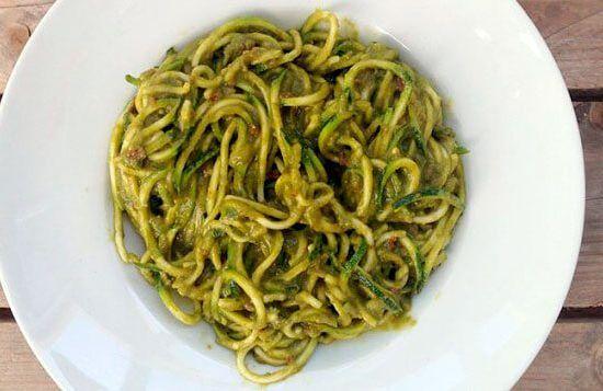 Come sano con estos spaghetti de calabacín
